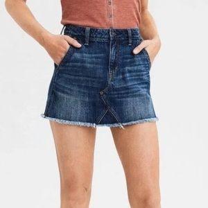 🆕 AE Sz 18 Denim Festival Skirt